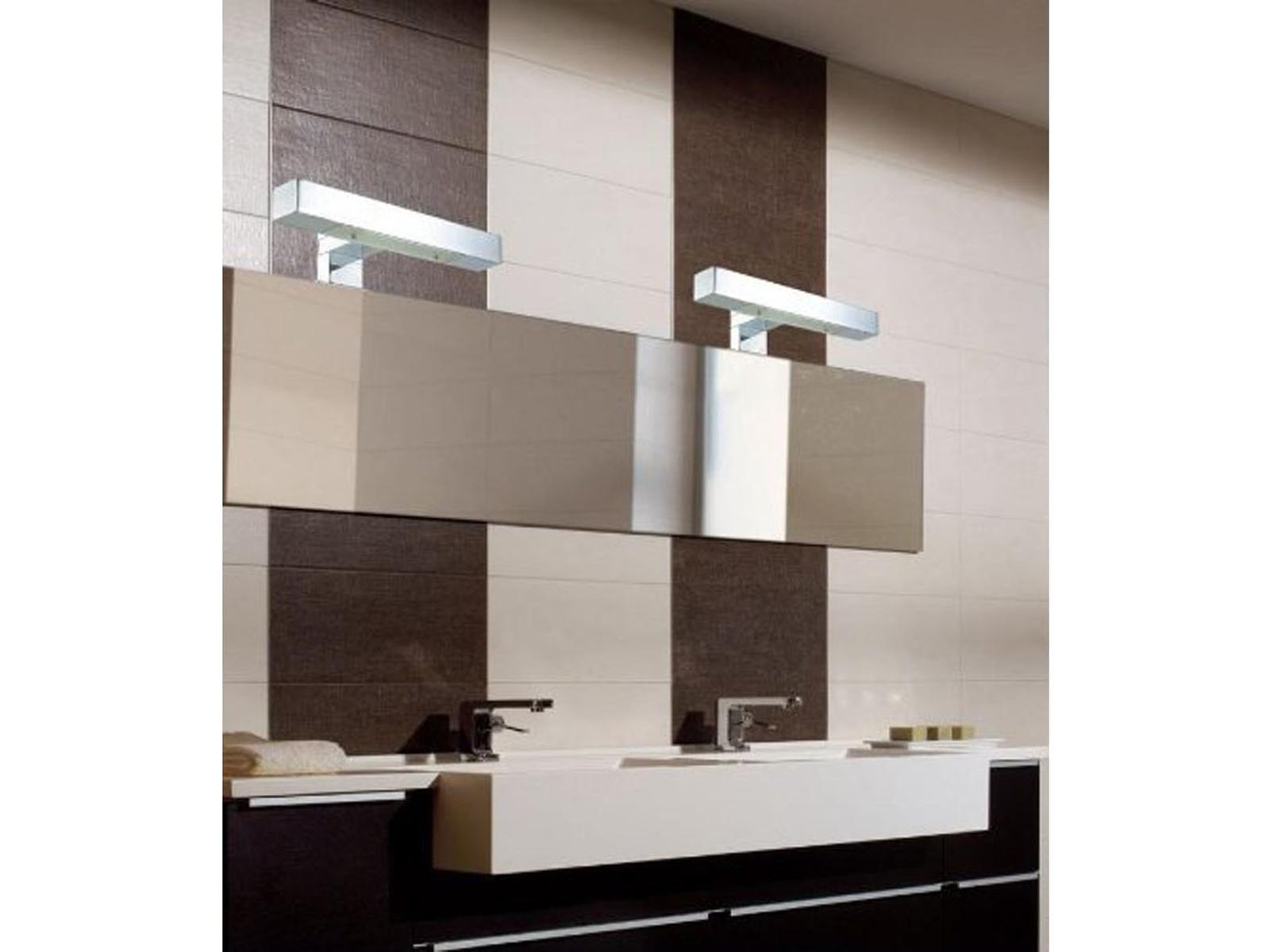 LED Spiegelleuchte 30cm Fürs Badezimmer, Spiegellampe IP44