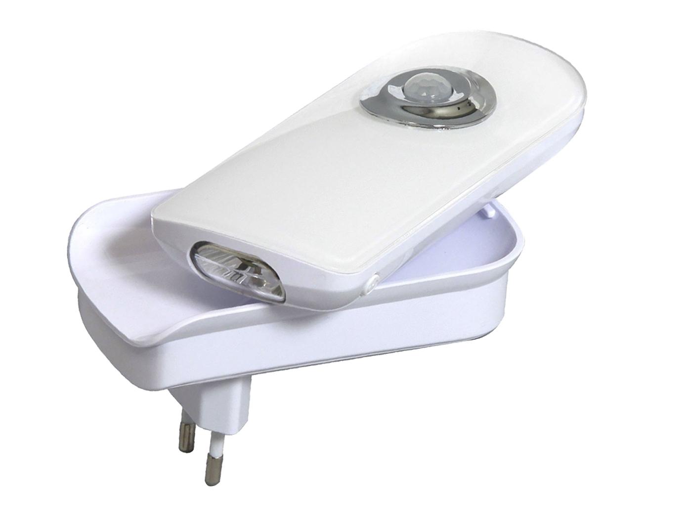 LED-Steckdosenlicht mit Taschenlampenfunktion, Orientierungsleuchte ...