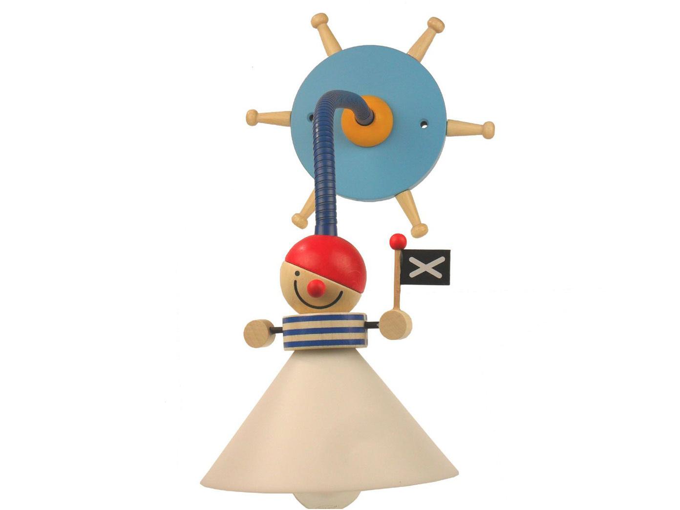 wandlampe kinderzimmer jungen pirat kinderlampe 30cm flexrohr sehr biegsam neu ebay. Black Bedroom Furniture Sets. Home Design Ideas