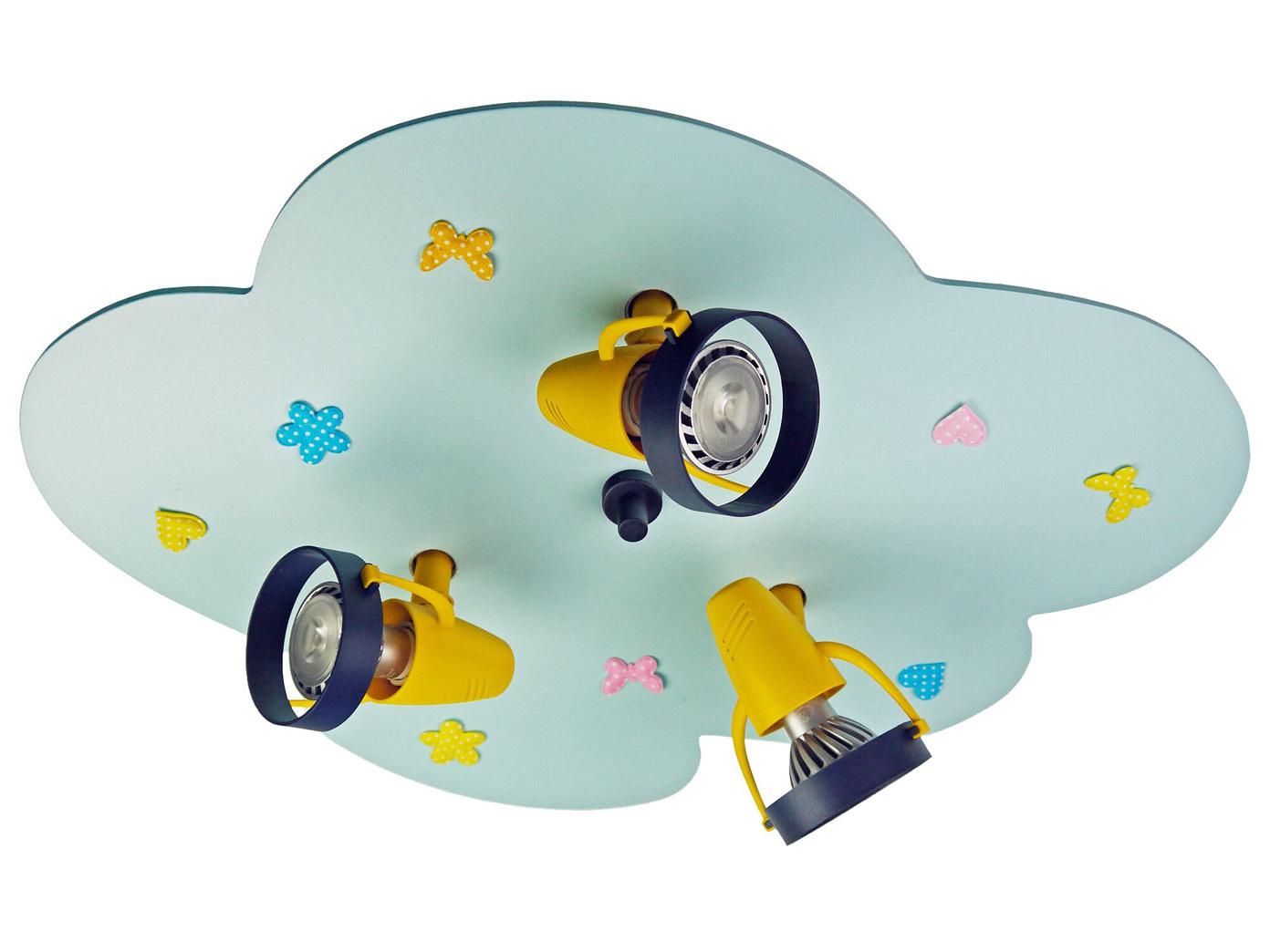 Lampada da soffitto per stanza dei bambini spot orientabile