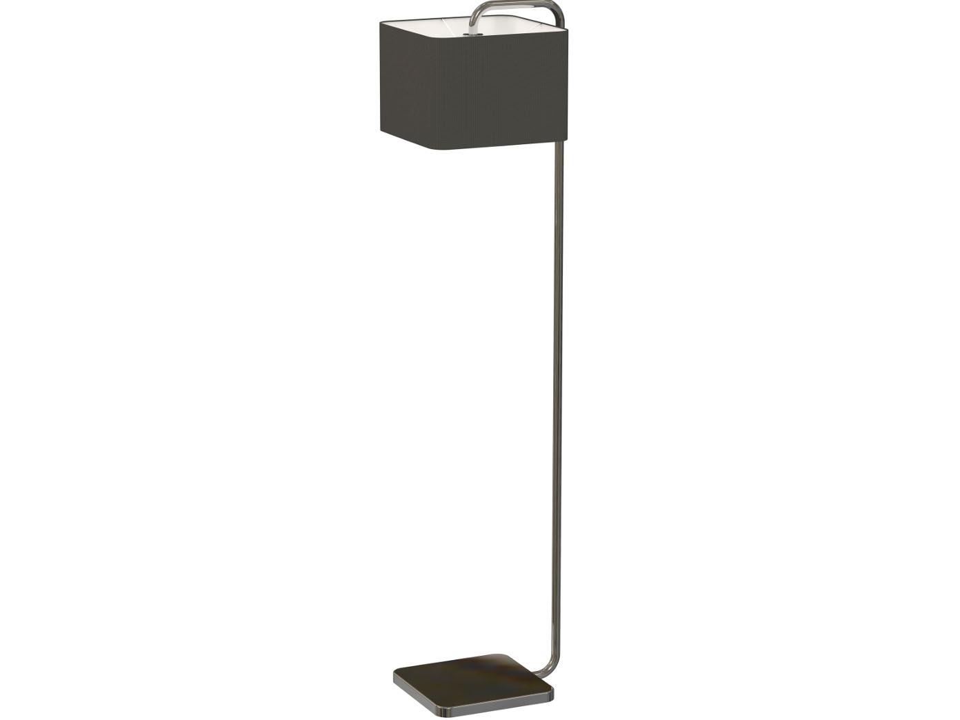 Beeindruckend Stehlampe Mit Schirm Foto Von Stehlampe-schirm -eckig-textil-schwarz-standleuchte-stehleuchte-wohnzimmerlampe
