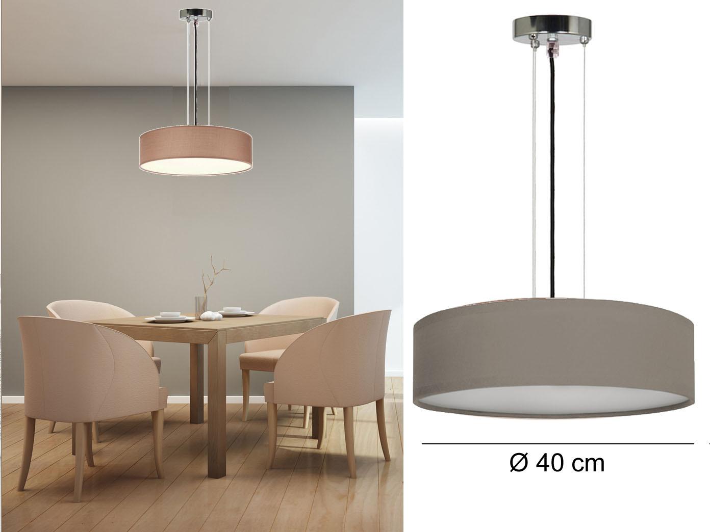 Rund lampe elegant das bild wird geladen brauncm with for Esszimmer offenbach