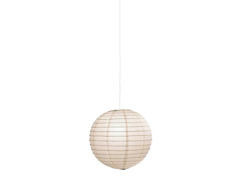 LED Hängelampe aus Papier Japan-Kugel weiß Ø 50cm Lampion Leuchtmittel dimmbar
