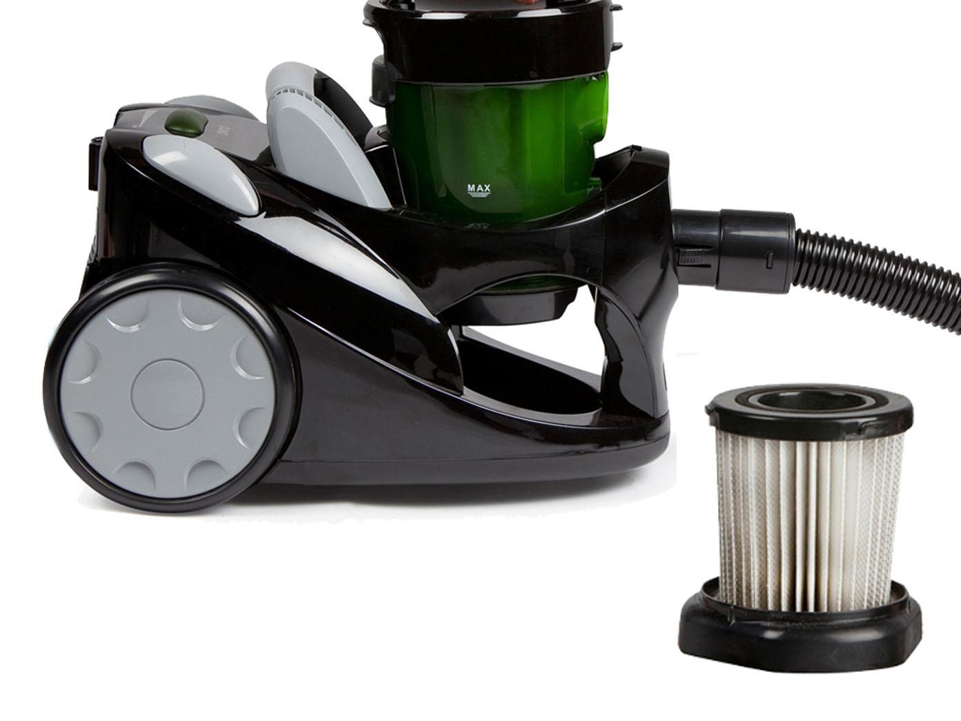 zyklon staubsauger ohne beutel inkl zusatz hepa filter. Black Bedroom Furniture Sets. Home Design Ideas