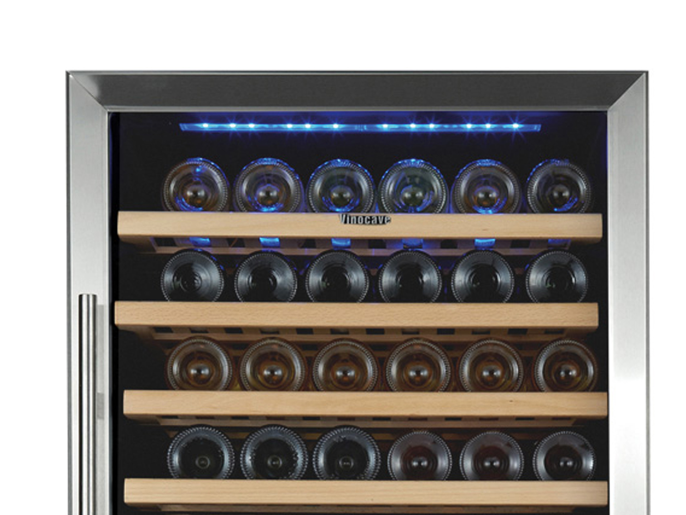 profi weink hlschrank 117 flaschen 2 zonen winecooler weinklimaschrank ggg ebay. Black Bedroom Furniture Sets. Home Design Ideas