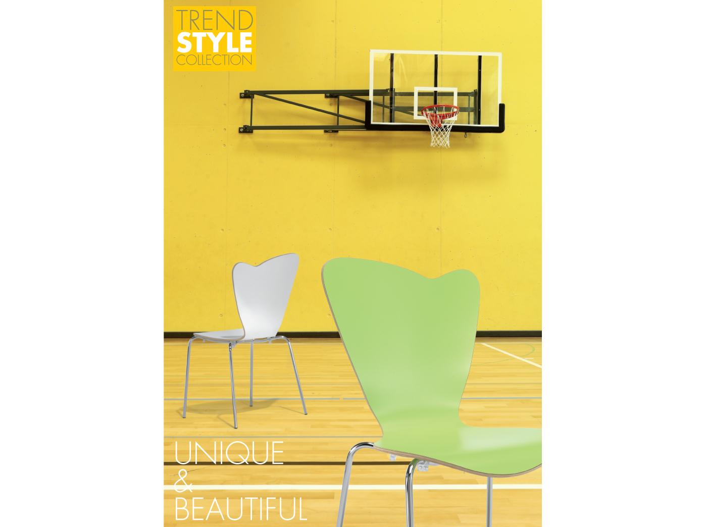 Design stuhl heart in grau stapelstuhl esszimmerstuhl for Design stapelstuhl
