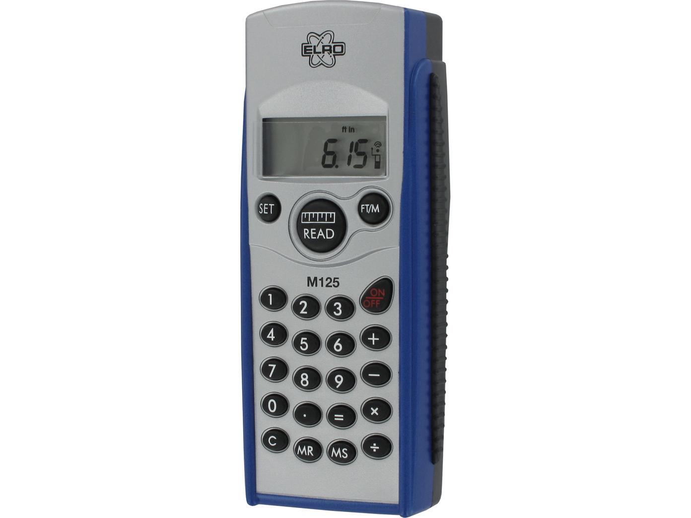 Laser entfernungsmesser bis m taschenrechner interner speicher