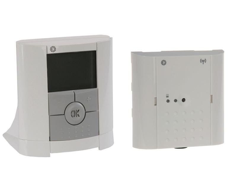 vitalheizung funk raumthermostat mit empf nger. Black Bedroom Furniture Sets. Home Design Ideas