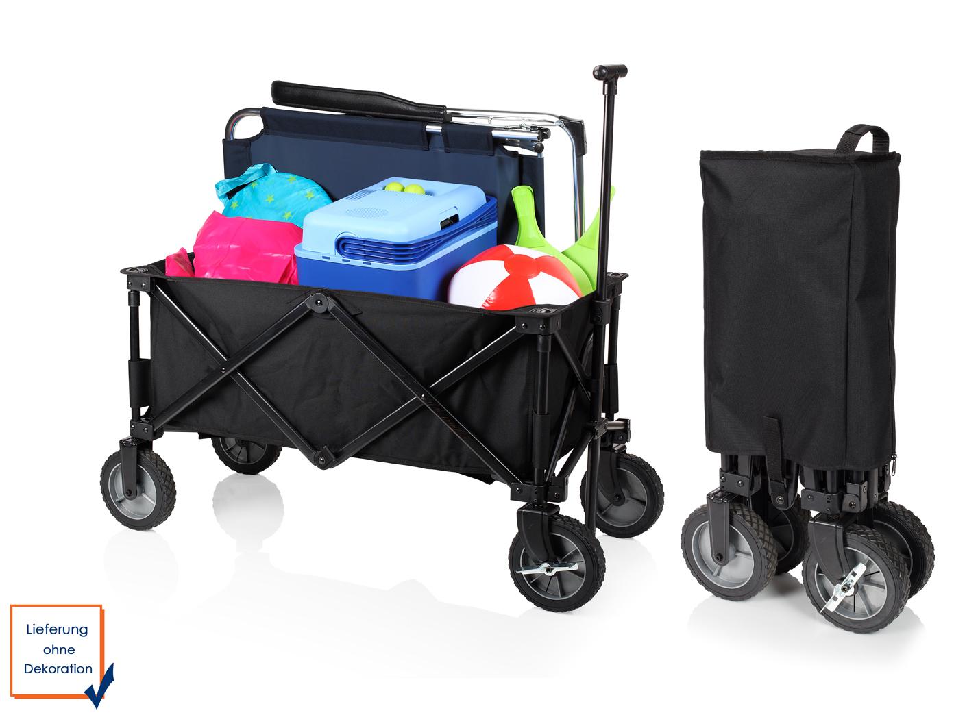 klappbollerwagen schwarz mit bremse faltbarer kinder. Black Bedroom Furniture Sets. Home Design Ideas