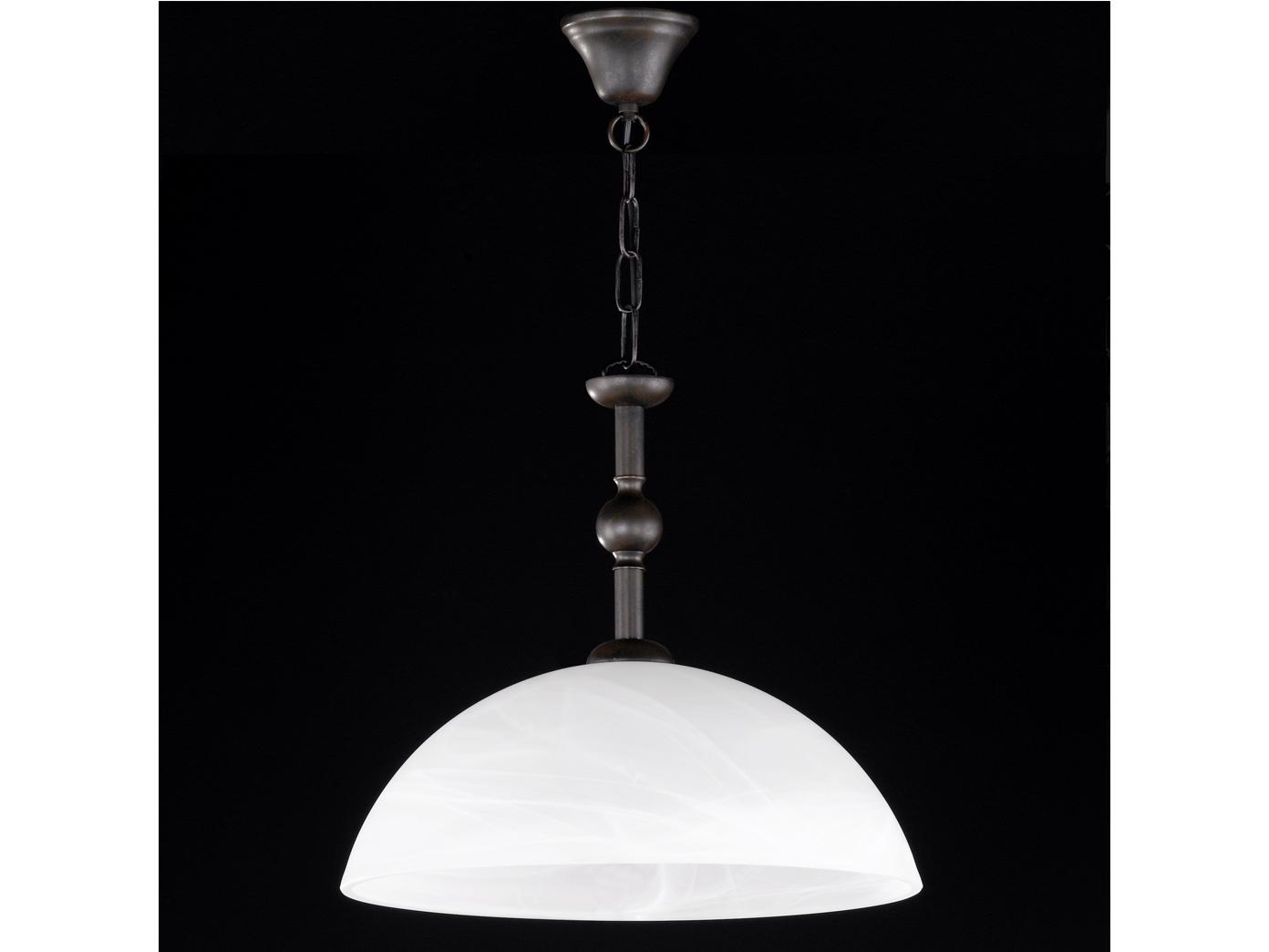 Elegante óxido 1-quemadores colgante imke en óxido Elegante Antik honsel-luminarias 4437bf